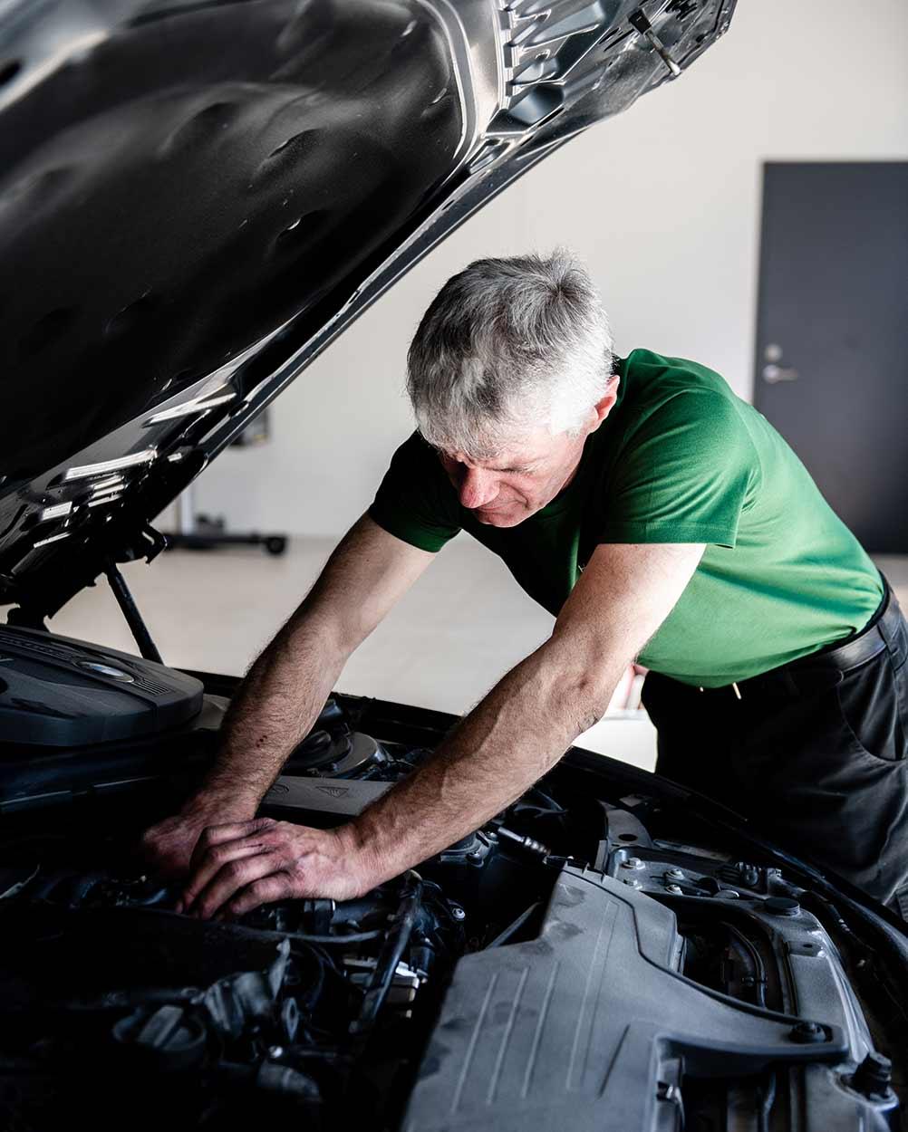 Reparasjon av motor